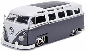 1:24 1962 VW Bus -- Grey -- JADA Bigtime Kustoms Volkswagen Kombi