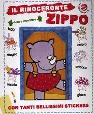 Il rinoceronte Zippo. Libro per bambini - Cartonato Ed. La Coccinella