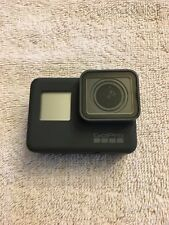 GoPro Hero 5 Black Action Camera with batteries, charger, mounts, and case.