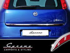 Fiat Punto 3 Evo Grande Tipo 199 2005-heute Cromo Modanatura 3M Barra Posteriore