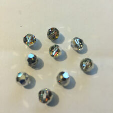 10 x 6mm Crystal Volcano Round Swarovski Crystal Beads (TEN BEADS ONLY) C65