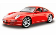 Maisto Porsche 911 Carrera S 1/18 Diecast Car Model Special Edition Red 31692