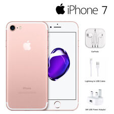 Apple iPhone 7 - 32GB - Rose Gold (Unlocked) Smartphone Sim Free 1 Year Warranty
