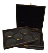 10 oz Silber Queen's Beasts Serie Großbritannien Münzbox Holz Holzmünzbox