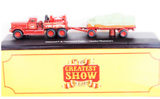 Camion Circo Diamond T & Canvassed Trailer  1:76 Atlas Circus (n.111)