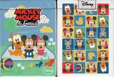 Mickey Mouse Baby & Friends Playing Cards Poker Size Deck JLCC Disney Custom New