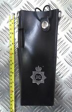 Genuine MOD Military / Police Black Leather Radio Holder UKNH18