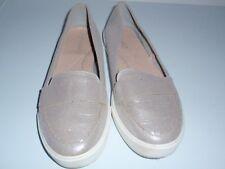TU Comfort Silver Flat Shoes Size UK 7, EUR 41