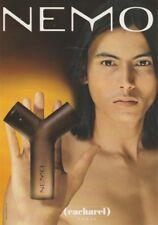 Carte  publicitaire- advertising card - Némo de Cacharel  (format carte postale)
