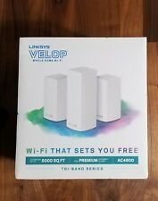 Linksys Velop Ac4600 Whole Home WiFi System Tri-band Series Vlp0203bf - NEW!!!