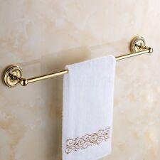 Gold Color Brass Single Towel Bar Towel Rack Bathroom Wall Mounted Towel Holder