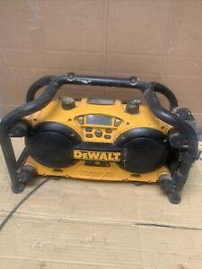 Dewalt DC011-GB Site Radio - Works