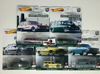 5 Car Set * 2021 Hot Wheels FAST WAGONS Car Culture B Case * IN STOCK