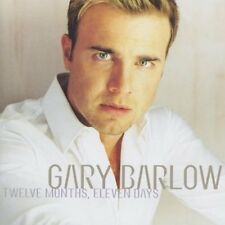 + cd  Gary Barlow  nuovo incelofanato Twelve Months, Eleven Days Import  cd