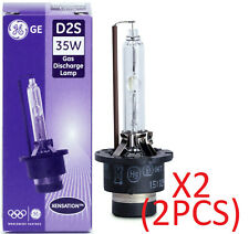 2pcs GENUINE XENON light Bulb GE General Electric Xensation Xenon D2S 53500 35W