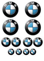 12 pezzi Sticker  adesivi in vinile BMW varie misure