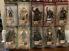 Lord Of The Rings Action Figure Set Aragorn Uruk Hai Witch King Lot