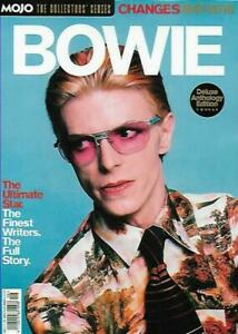 BOWIE - MOJO MAGAZINE COLLECTOR'S SERIES - CHANGES 1947 - 2016, DELUXE EDITION