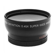 52MM 0.45 x Wide Angle Macro Lens for Nikon D3200 D3100 D5200 D5100 QD