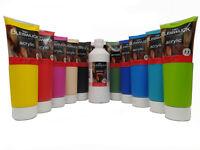 Acrylfarbe Künstlerfarbe 250 ml Tube Acryl Farbe Kunst Malen Kreativ 36€/1000ml