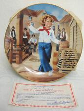 Vintage Danbury Mint: Shirley Temple Plate Collection - Captain January - # C66