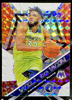 Karl Anthony Towns 2019-20 Panini Mosaic Will to Win Mosaic Prizm SP