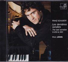 SCHUBERT Sonates D.959 & D.960 PAUL LEWIS