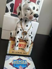 Anheuser-Busch Budweiser Dalmation Lidded Stein Limited Edition CS324