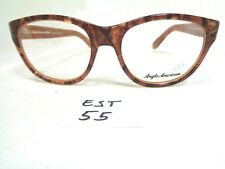 New ANGLO AMERICAN Optical Eyeglass Frame Round Tifany CRBR (EST-55)