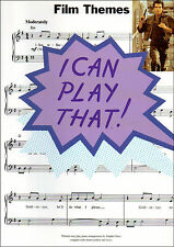 I Can Play That - FILM THEMES - Easy Piano Sheet Music Book Songbook Movie Tunes