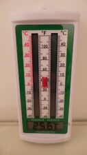 ETI PUSH BUTTON DIGITAL MAX MIN GREENHOUSE THERMOMETER NEW