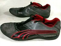 Puma DUCATI Motorcycle- Steel Grey Suede Casual Athletic Shoes- Low Top- Size 12