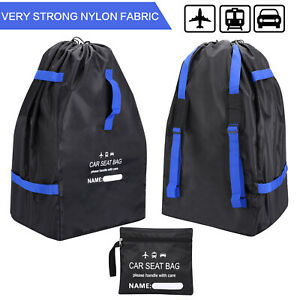 Car Seat Travel Bag Adjustable Padded Backpack for Car Seats Car Seat Travel