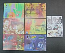 Spain  2002 7/ Different  Partially Shown Sheets MNH