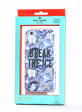 Kate Spade Hard Snap Case Cover for iPhone 6 iPhone 6s Break the Ice Resin/Clear