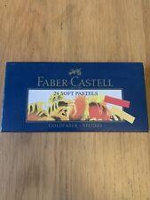 Faber Castell 24 Soft Pastels        #74