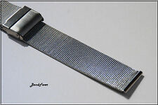 CLEARANCE 20mm solid STAINLESS STEEL MESH WATCH BAND,BRACELET Men Woman Fits all