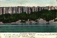 Vintage Postcard - Posted 1908 Palisades Hudson River NY Undivided Back #3306