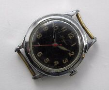 Vintage 1943 Longines Military WW2 Pilot's Watch 12.68N 17 Jewels Central sec