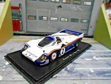 PORSCHE 956C 956 C Le Mans 1983 #2 Mass Bellof Rothman s + Decals Spark 1:43