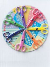 Creative Craft Various Blade Cutting Pattern Scissors Cardmaking Easy Grip Safe