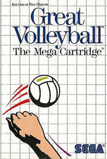 # Sega Master System-Great voleibol/MS juego #