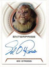 Star Trek Enterprise Autograph Ed O'Ross A15 Gaavrin
