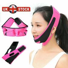 UK Face V-Line Slim Lift Up Mask Chin Cheek Slimming Strap Belt Anti-Aging Band