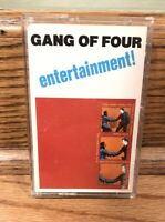 Gang of Four: ENTERTAINMENT! - Cassette Tape (1979) ~ Rare
