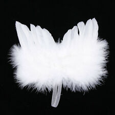 Chic Angel Feather Wing Christmas Tree Decoration Hanging Ornament Wedding Fine