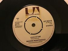 "Maxine Nightingale- Love Hit Me- Life Has Just Begun- UA Records 7""1977"