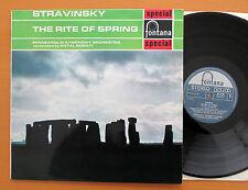 SFL 14009 Stravinsky The Rite Of Spring Antal Dorati 1963 Fontana Stereo NM/EX