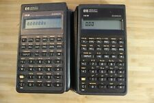 Vintage Hp Business Calculators - 10B & 14B Both With Soft Cases