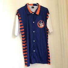 NY Knicks Knicks Bowl Blue & Orange Bowling Shirt, One size